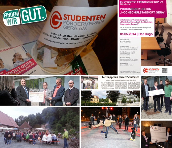 Collage Studentenförderverein